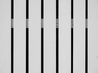 white wood of fence
