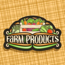 Vector Logo For Farm Products,...