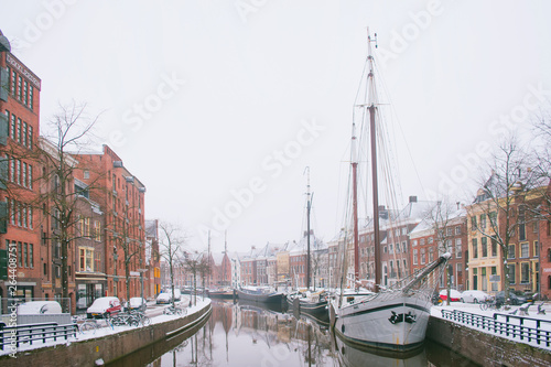 Photo  Winter in Groningen