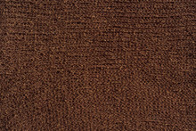 Brown Knitted Fabric Texture. ...