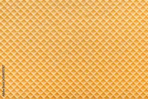 Fotomural  empty golden wafer texture, background for your design