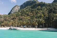Cabanas And Catamaran