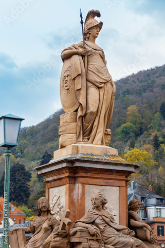 Fotografia Statue of Minerva