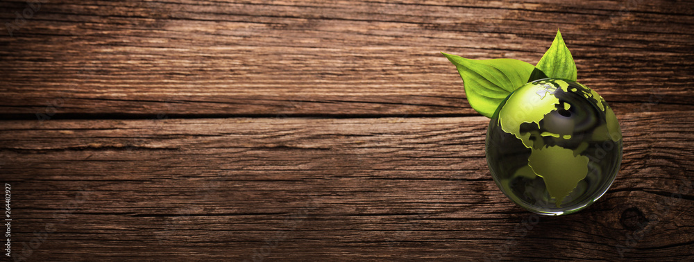 Fototapeta Green Planet Environment Ecology Concept