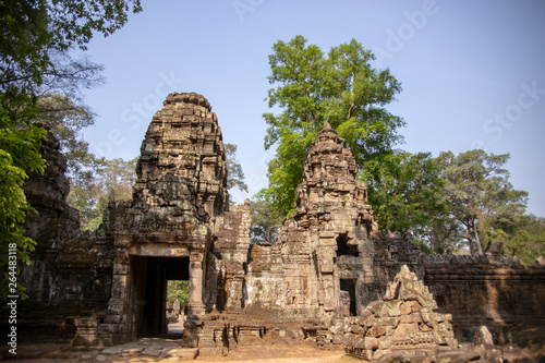 Entrance to Preak Khan Temple in Angkor Complex