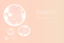 Soap Bubbles In Girly Style