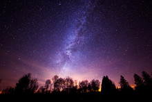 Milky Way Galaxy From Cherry Springs State Park