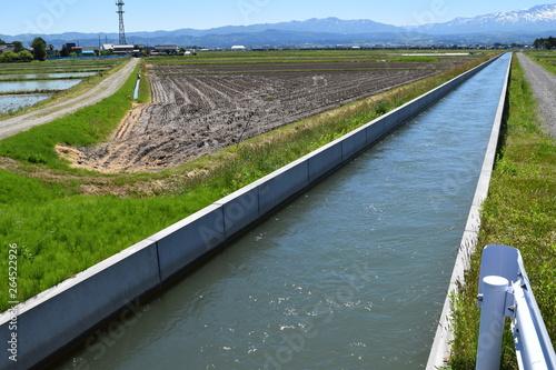 Fotografie, Obraz 農業用水路