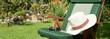 canvas print picture - Garten 904