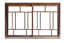 Antique Wooden Window Frames I...
