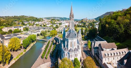 Obraz Sanctuary Our Lady Church, Lourdes - fototapety do salonu