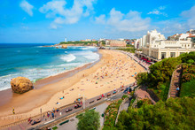 La Grande Plage Beach, Biarritz