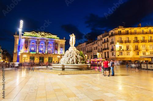 Fotografía  Place de la Comedie, Montpellier