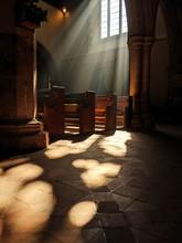 Church Pews Of Light