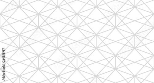 Fototapeten Künstlich The geometric pattern with lines. Seamless vector background. White and grey texture. Graphic modern pattern. Simple lattice graphic design.