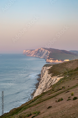 Photo Looking along the Isle of Wight coastline towards Freshwater Bay and Tennyson Do