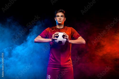 Fotografia Teenager - soccer player