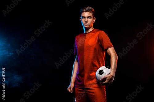 Carta da parati Teenager - soccer player