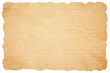 canvas print picture - Brown paper texture. Paper background