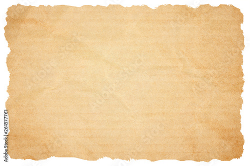 Photo  Brown paper texture. Paper background