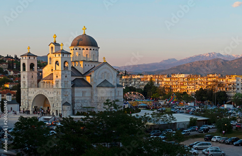 Fototapeta  Cathedral of the Resurrection of Christ in Podgorica, Montenegro