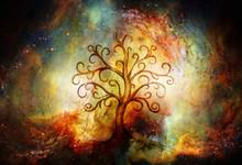 Tree Of Life Symbol On Structu...