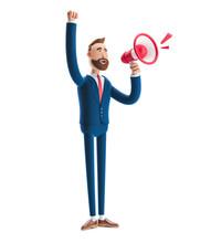 3d Illustration. Businessman B...