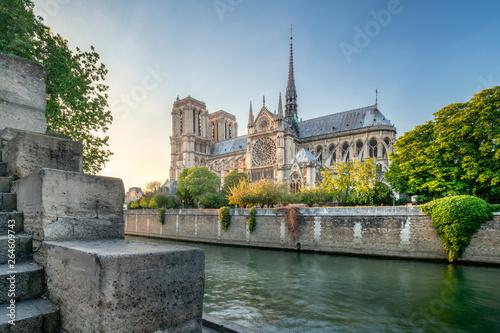 Obraz Katedra Notre Dame w Paryżu, Francja - fototapety do salonu