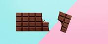 Schokolade Auf Hintergrund