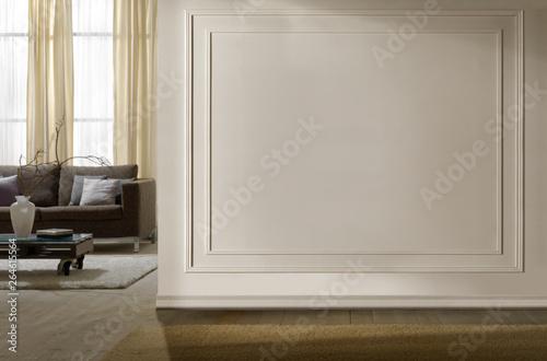 Fotografie, Obraz  Ambiente con divano