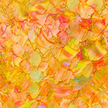 Seamless Abstract Textured Oil...