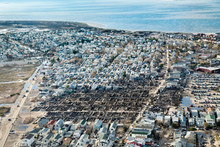 Breezy Point After The Fires That Destroyed Many Homes During Hurricane Sandy.