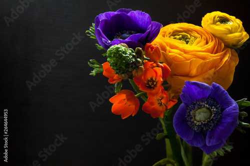 Bouquet of spring flowers. - 264644953