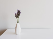 Close Up Of Lavender Sprigs In...