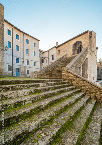 Anagni (Italy) - A little medieval city in province of Frosinone, famous to be the City of the Popes; it has long been the residence of the Pope of Rome Wallpaper Mural