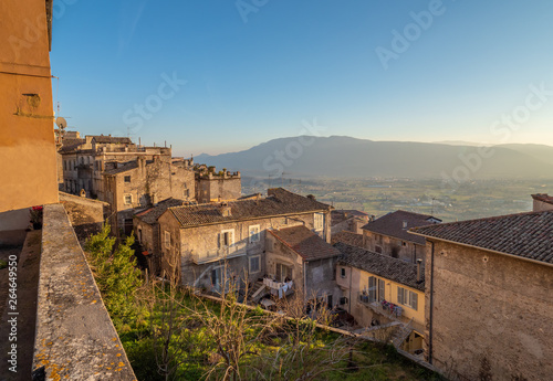 Anagni (Italy) - A little medieval city in province of Frosinone, famous to be the City of the Popes; it has long been the residence of the Pope of Rome Fototapet
