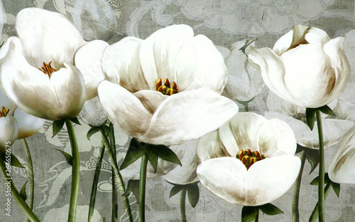 3d absract wallpaper design Wallpaper Mural