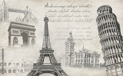 Photo  3d wallpaper chinese europe design