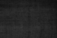Gray Linen Fabric Texture Or Background.