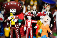 Day Of The Dead Figures Calacas
