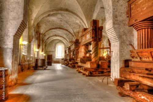 Pinturas sobre lienzo  Weinkeller des Kloster Eberbach in Deutschland