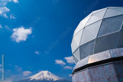 Stampa su Tela 富士山レーダードーム館