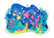 Aquarium Vector Illustration I...