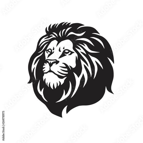 Fototapety, obrazy: Wild Lion Vector Icon Logo Mascot Template Design