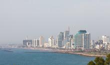 Skyline Of Tel Aviv, Israel
