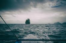 Storm And Calm. Open Ocean Phi...