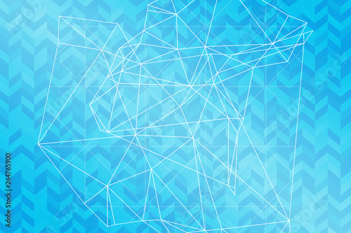 Fototapety, obrazy: abstract, blue, pattern, illustration, design, wallpaper, texture, digital, wave, backdrop, art, halftone, graphic, technology, curve, light, dot, color, green, circle, lines, white, flow, vector