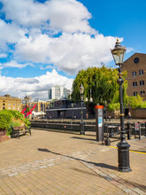 View Of St. Katharine Docks - ...