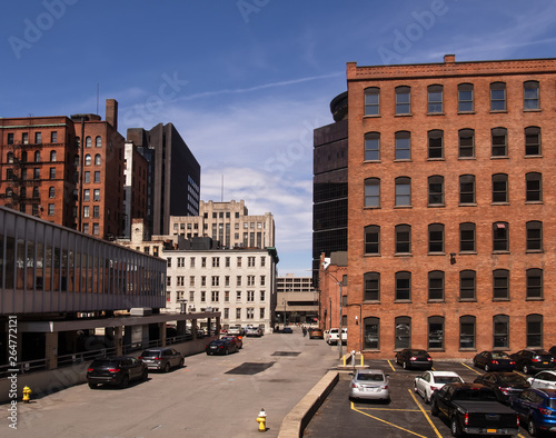 Downtown Rochester Tablou Canvas