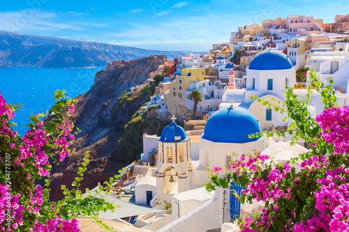 Obraz Santorini island, Greece. - fototapety do salonu